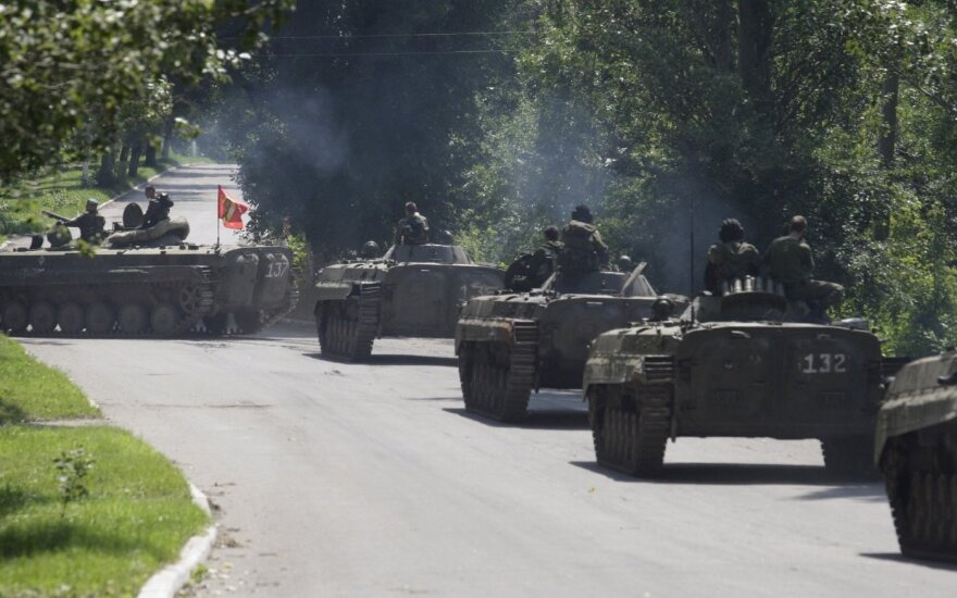 "Lithuanian foreign minister speaks of ""coordinated efforts"" to undermine Ukraine truce"