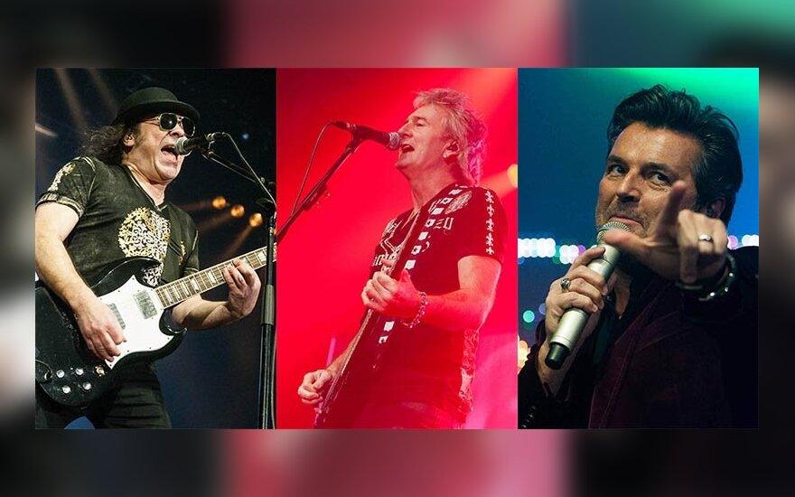 """""""Slade"""", """"Sweet"""" ir Thomo Anderso koncertas"""