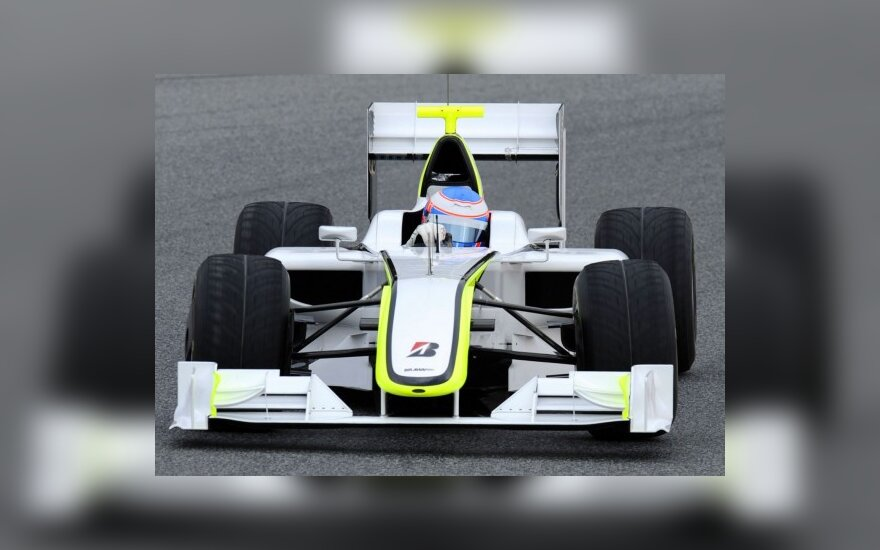 "Jensonas Buttonas su ""Brawn GP"""