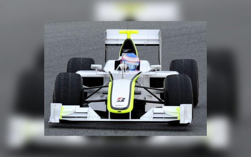 """Jensonas Buttonas su """"Brawn GP"""""""