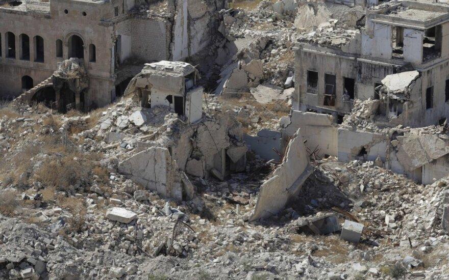 Irako aviacija smogė IS taikiniams Sirijoje ir nukovė 28 kovotojus