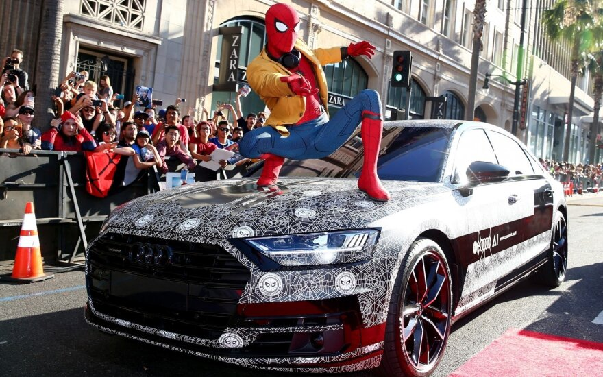 """Audi A8"" filmo ""Žmogus-voras"" pristatyme"