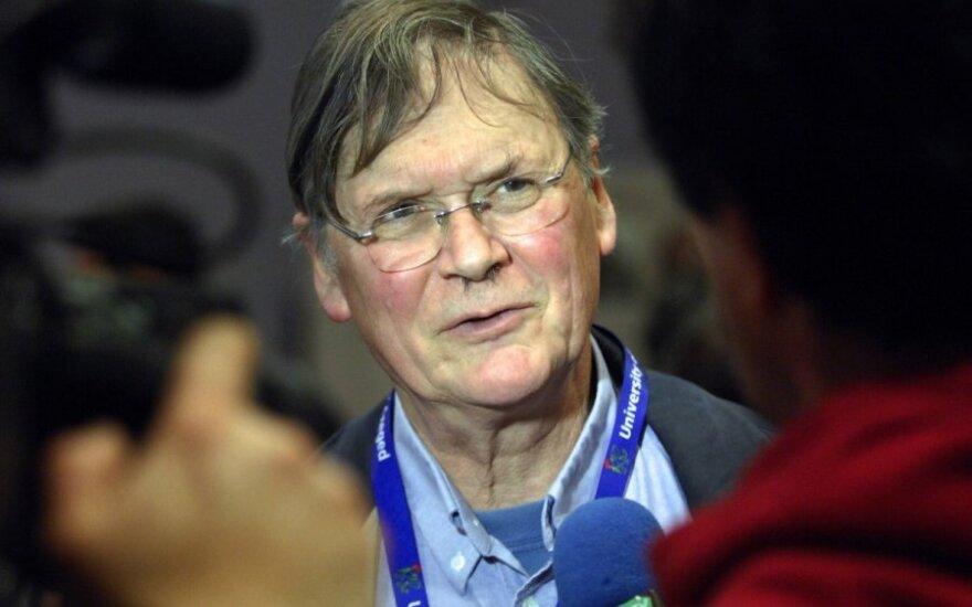 Nobelio premijos laureatas Timas Huntas