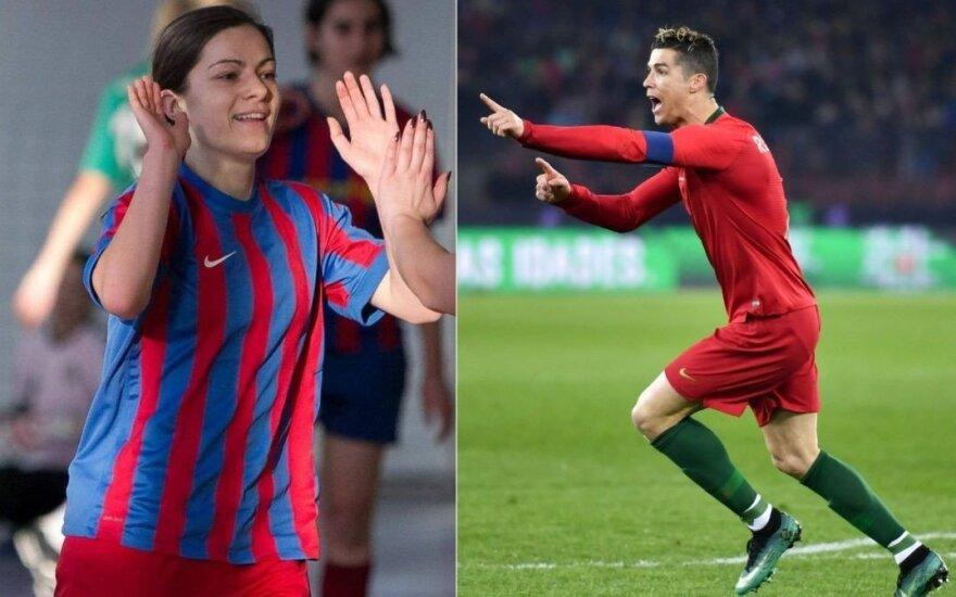 Pasaulio futbolo čempionatą per LRT komentuosianti teisėja: palaikau Portugaliją