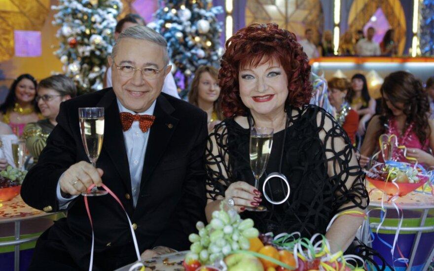 Петросян и Степаненко развелись и делят в суде имущество