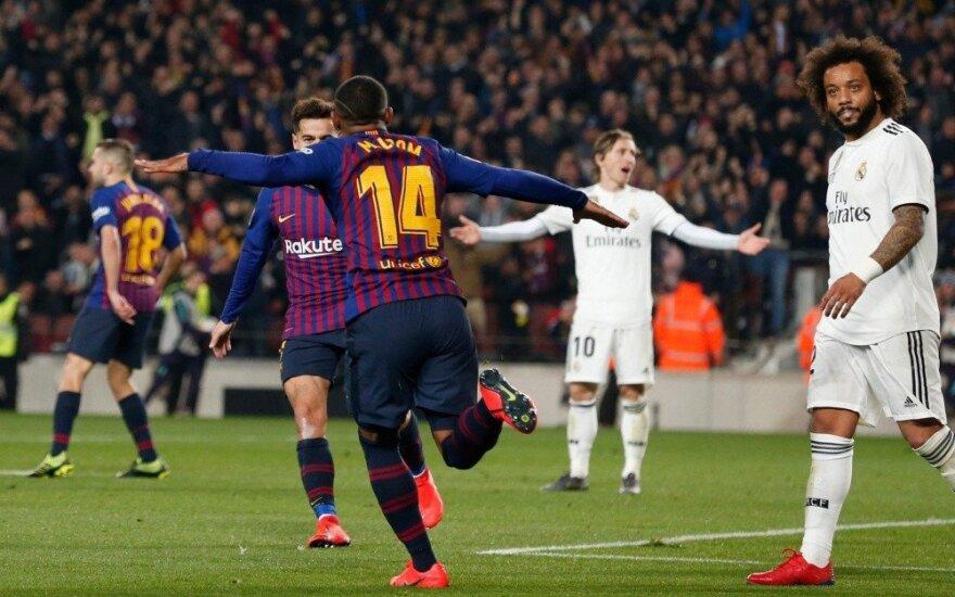"""""""Barcelona"""" išsigelbėjo """"El Clasico"""" mūšyje"""