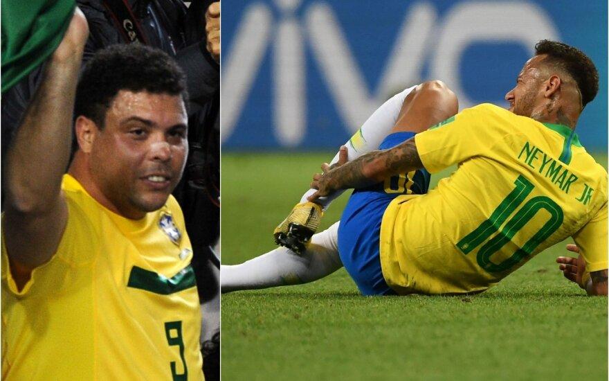 Ronaldo Nazario, Neymaras