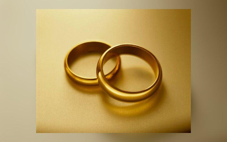 santuoka, žiedai, vestuvės