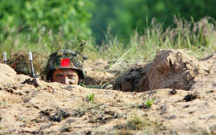 Žvilgsnis iš arti į Lietuvos greitojo reagavimo pajėgas