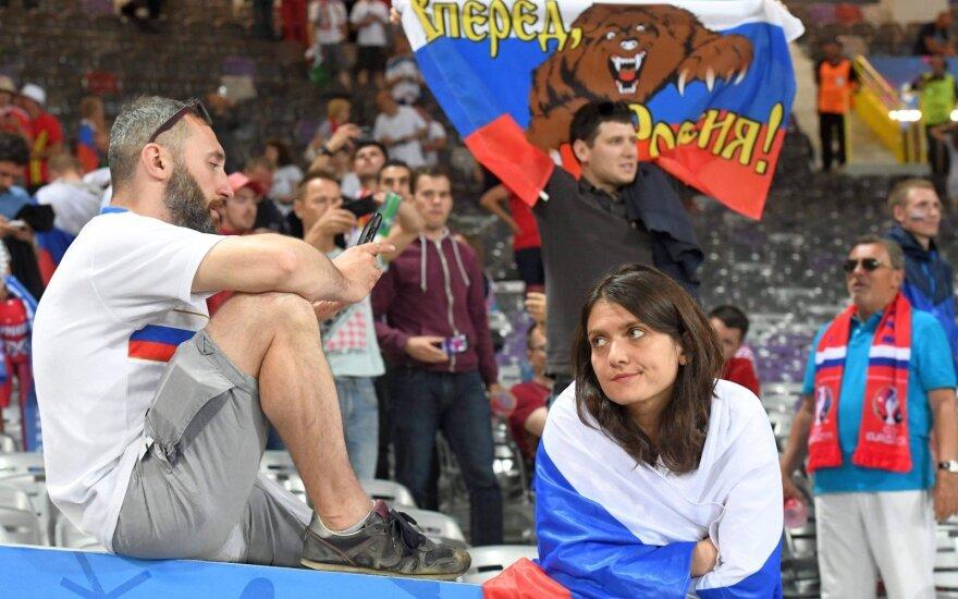 FIFA reitingas: Rusija krito žemyn, Velsas ir Islandija šoko į viršų