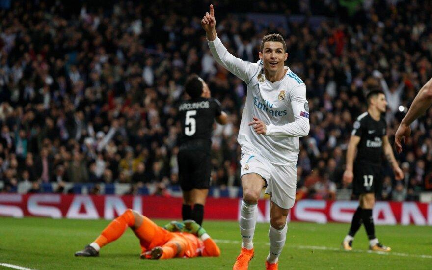 """UEFA Čempionų lygos ketvirtfinalis: """"Real"""" – PSG"""
