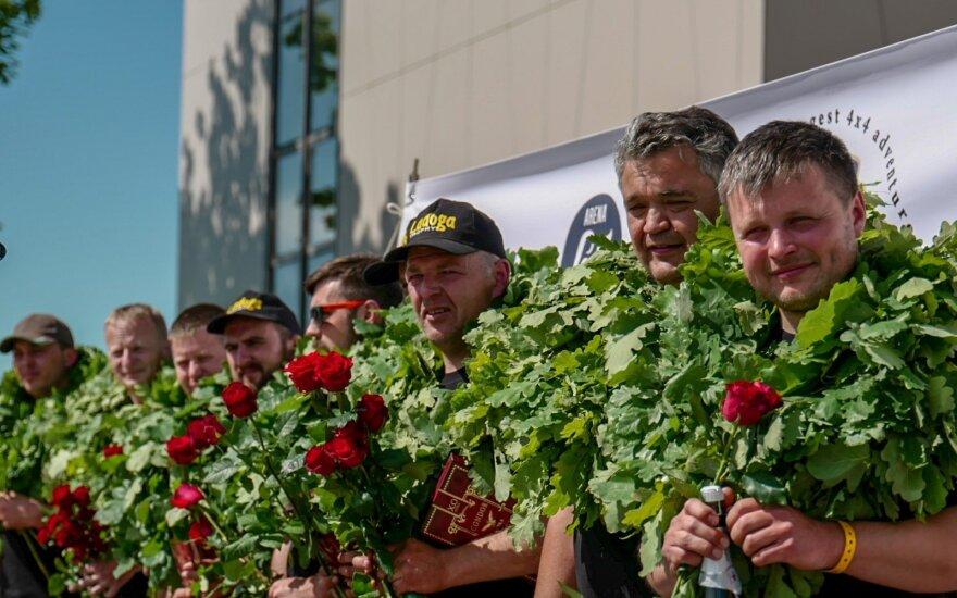 Lietuviai iš Ladogos maratono parsivežė pergalę ir nuovargį