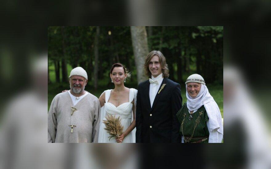 Jonas Trinkūnas, Aistė Jasaitytė, Romanas Čeburiakas ir Inija Trinkūnienė