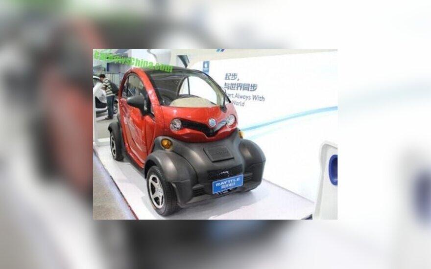 Renault Twizy klonas Kinijoje