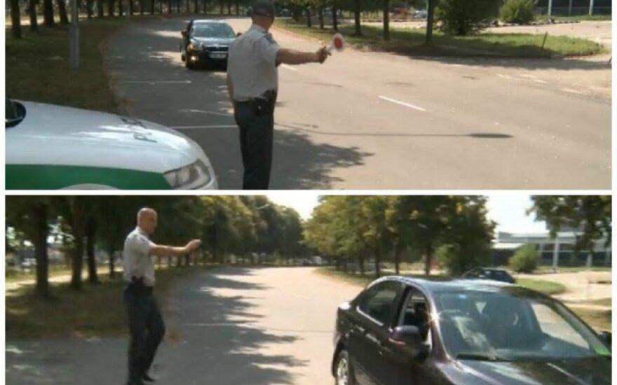Policijos stabdymas