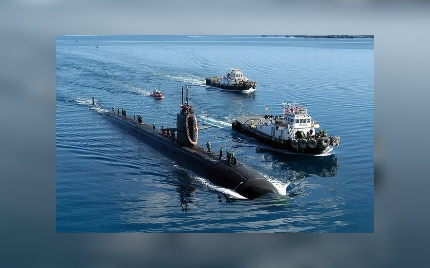 """USS San Francisco"" tarnybos metu"