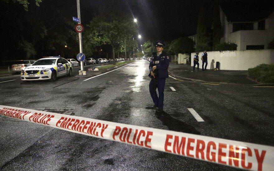Naujosios Zelandijos teismas apkaltino atakos mečetėse įtariamąjį