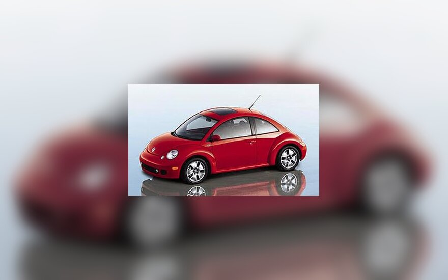 """VW New Beetle Turbo S"" automobilis"
