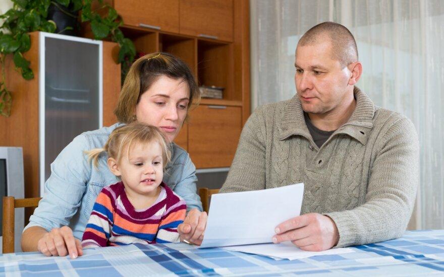 Šeimai mokėti teko už visą mėnesį.
