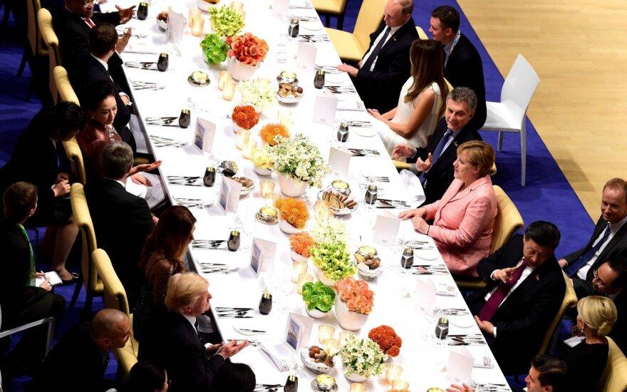 G20: padidėjusi įtampa prekyboje ir geopolitinė įtampa kelia riziką ekonomikos augimui