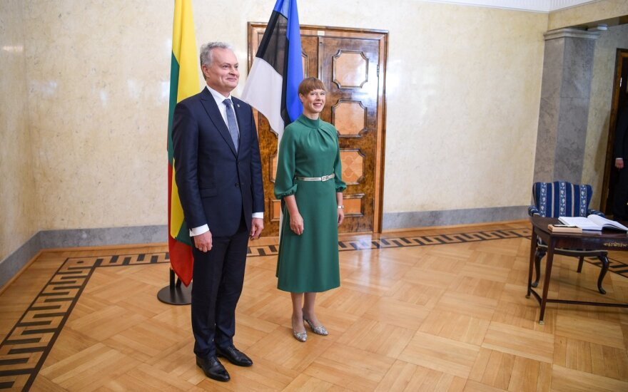 Į Lietuvą atvyksta Estijos prezidentė