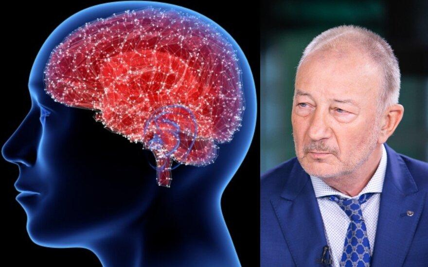 Neurologas įspėja apie ypač dabar tykantį pavojų: kaip apsaugoti smegenis ir pasirūpinti gera kraujotaka