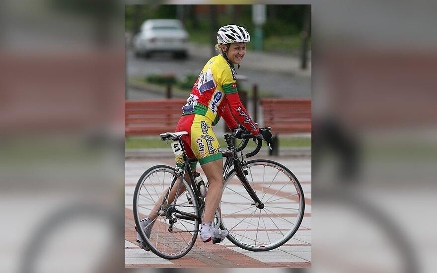 I.Čilvinaitė daugiadienėse dviratininkių lenktynėse Prancūzijoje finišavo devinta