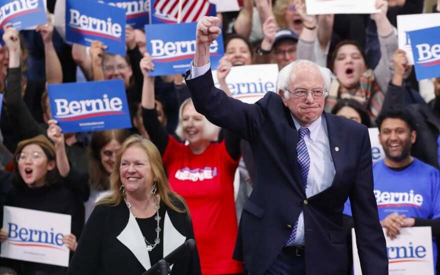 Ohajo valstija skelbia dėl koronaviruso atidedanti pirminius demokratų rinkimus