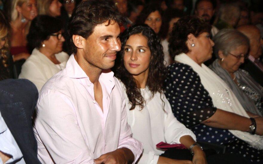 Mery Perello ir Rafaelis Nadalis