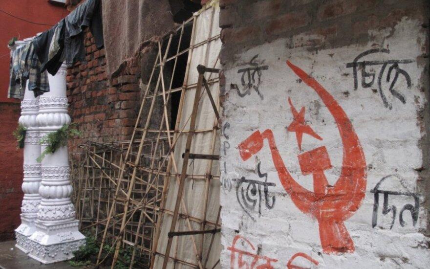 Komunistinė simbolika Kolkatoje