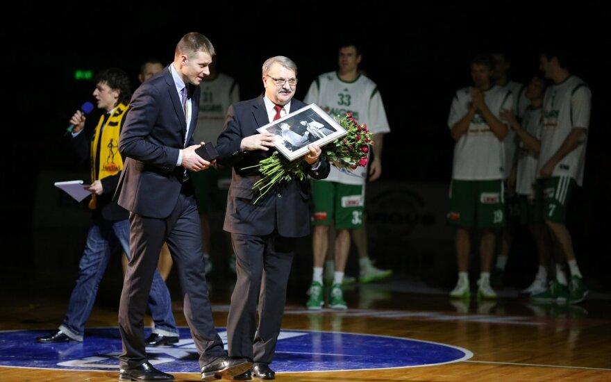 Adomas Klimavičius (dešinėje), Mindaugas Žukauskas