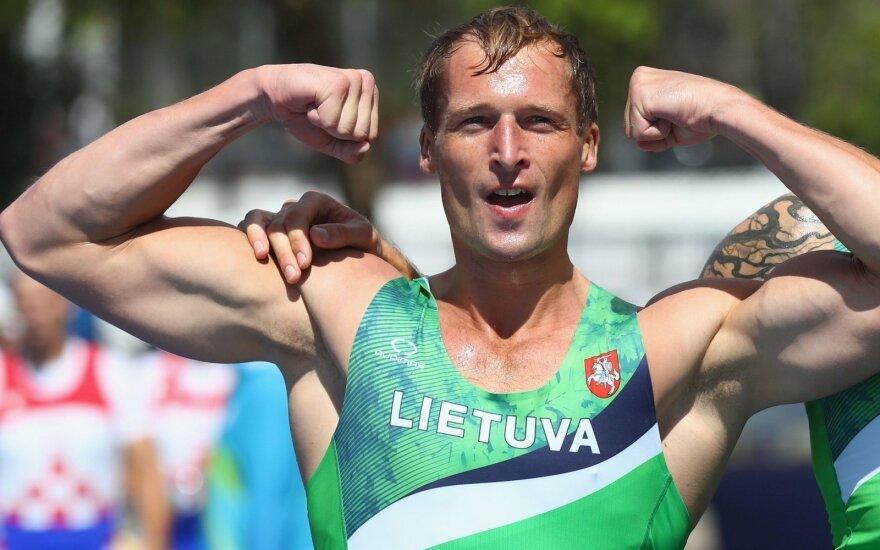 Irkluotojui Griškoniui – pasaulio čempionato bronza