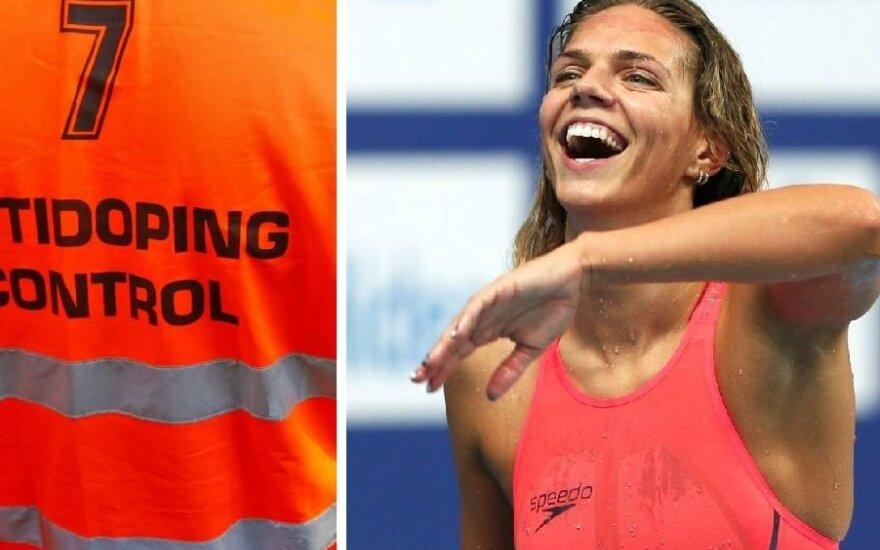 J. Jefimova: dopingas? Aš jo nevartoju, o plaukimas – pats švariausias sportas