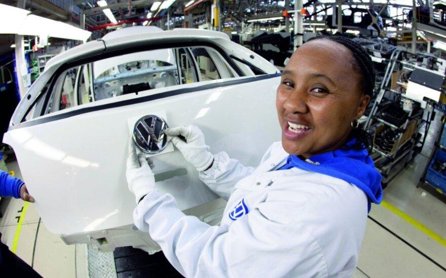 Volkswagen, automobilių gamyba