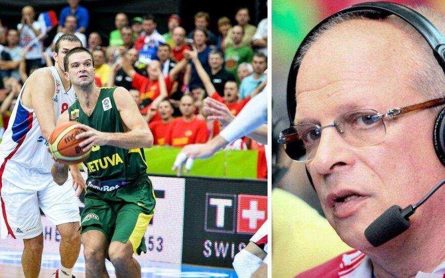 V. Gomelskis prieš pusfinalį su serbais Lietuvos rinktinei patarė tris dalykus
