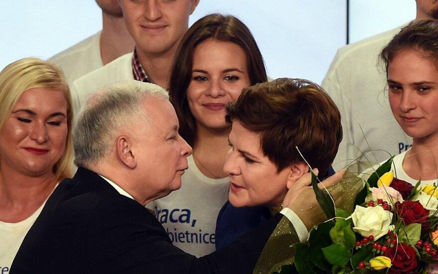 J. Kaczynskis: tie, kas parkrito – parkrito dėl savo kaltės ir pelnytai