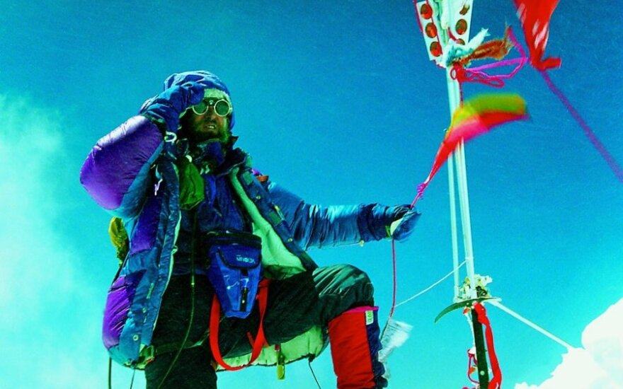V. Vitkauskas ant Everesto