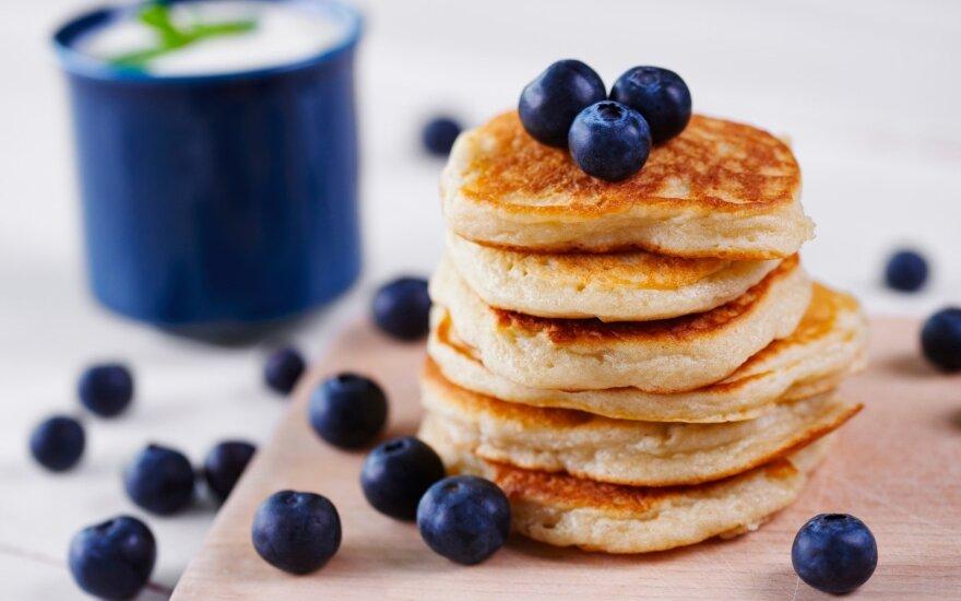 Saldūs pusryčių blynai – tiks ir jautriausiems valgytojams