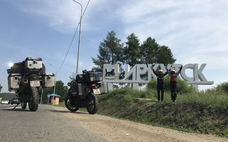 Į Sibirą savo noru: lietuvis su žmona įveikė daugiau kaip 20 000 kilometrų, tam kad naujai pažvelgtų į šį kiekvienam tautiečiui žinomą kraštą