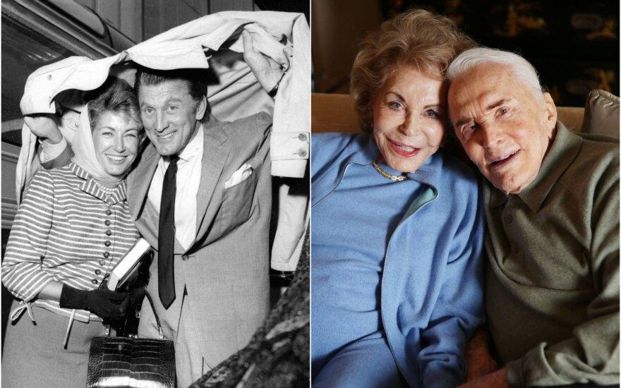 Kirkas ir Anne Douglasai / Foto: Scanpix (ZP, AP)