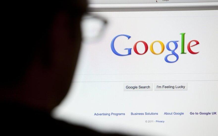 """""""Google"""" paieška 2015: kas rūpėjo lietuviams"""