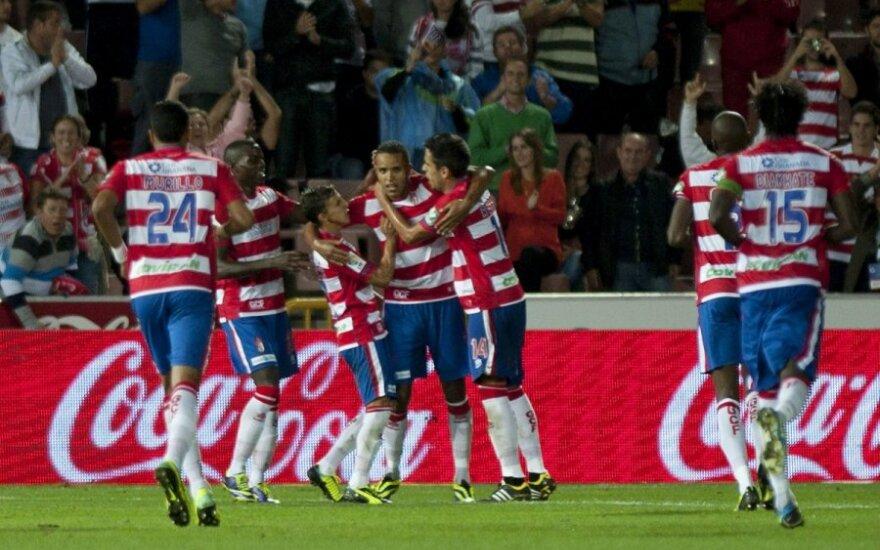 """""""Granada"""" futbolininkų džiaugsmas"""