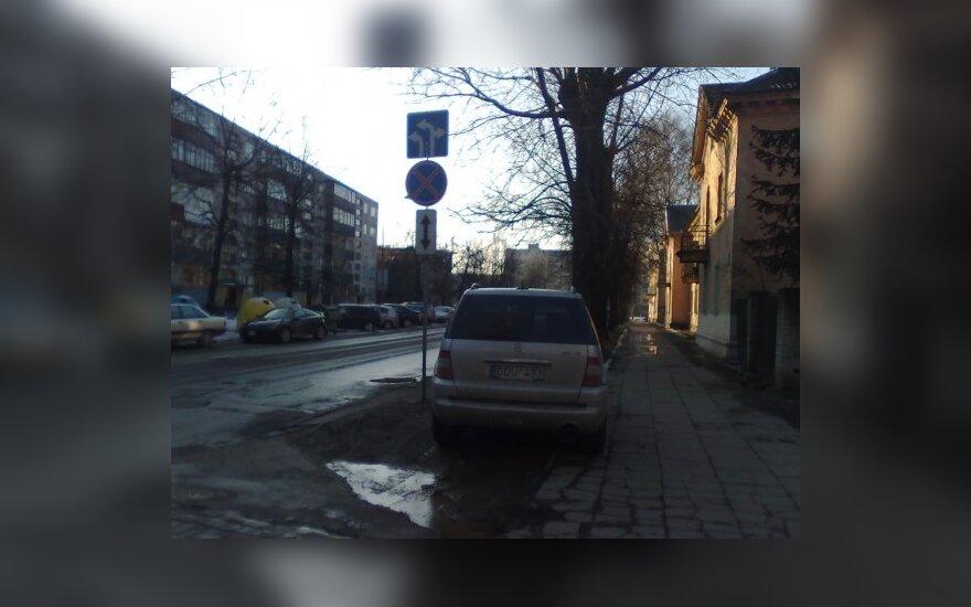 Vilniuje, Apkasų g. 2010-03-12, 16.40 val.