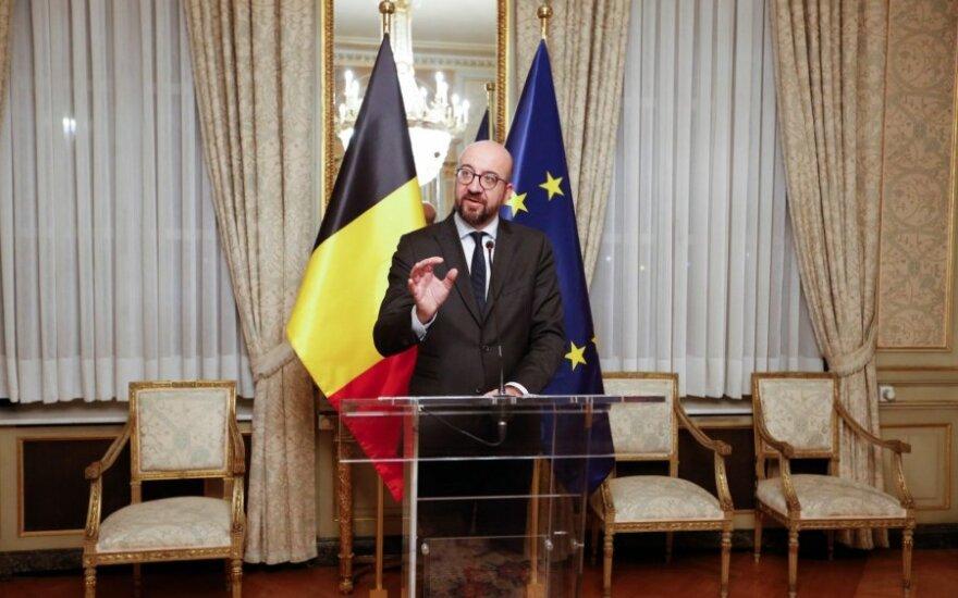 Belgijos premjeras Charles'is Michelis