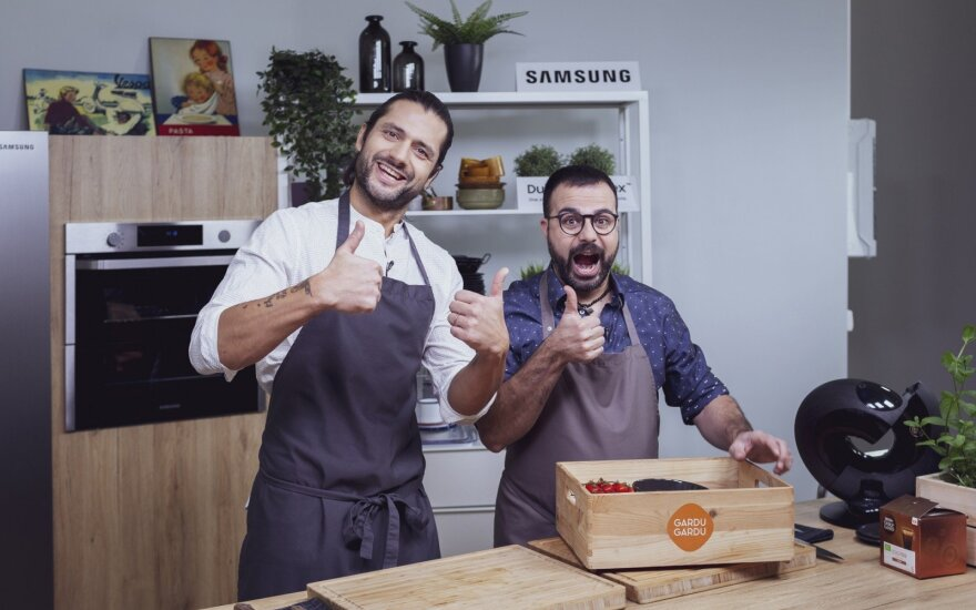 Ali Gadžijevas ir Gian Luca Demarco