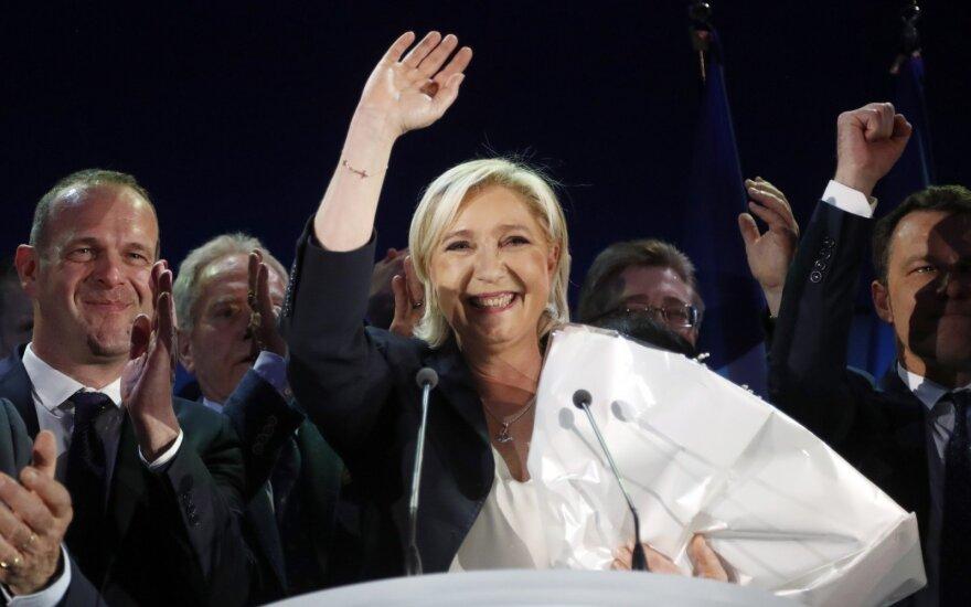 Prancūzijos prezidento rinkimai: ar M. Le Pen gali laimėti?