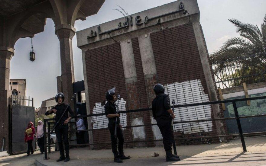 Prie Kairo universiteto sprogo bomba