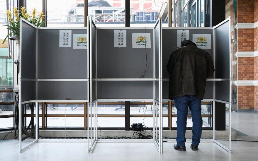 Nyderlanduose prasidėjęs balsavimas atveria Europos Parlamento rinkimų maratoną