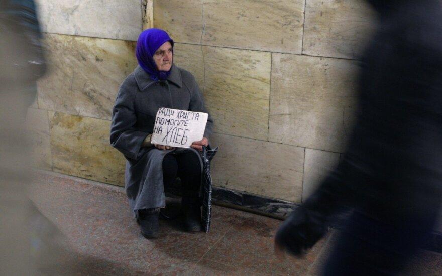 Paskelbė duomenis: Rusiją alina skurdas