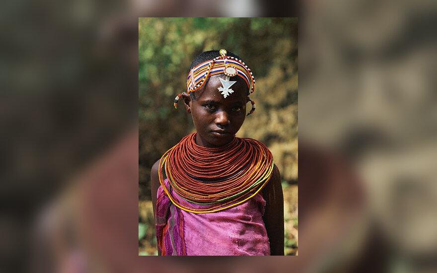 Kenija, mergaitė